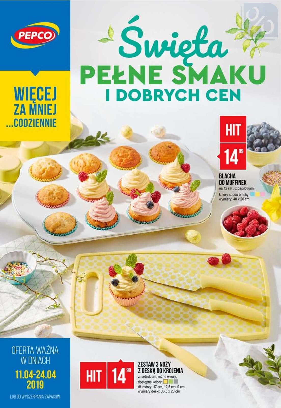 Gazetka promocyjna Pepco do 24/04/2019 str.0