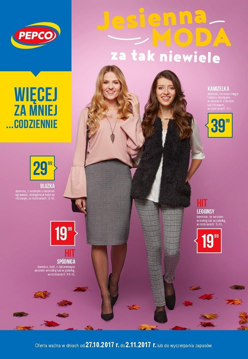 Gazetka promocyjna Pepco do 02/11/2017 str.0