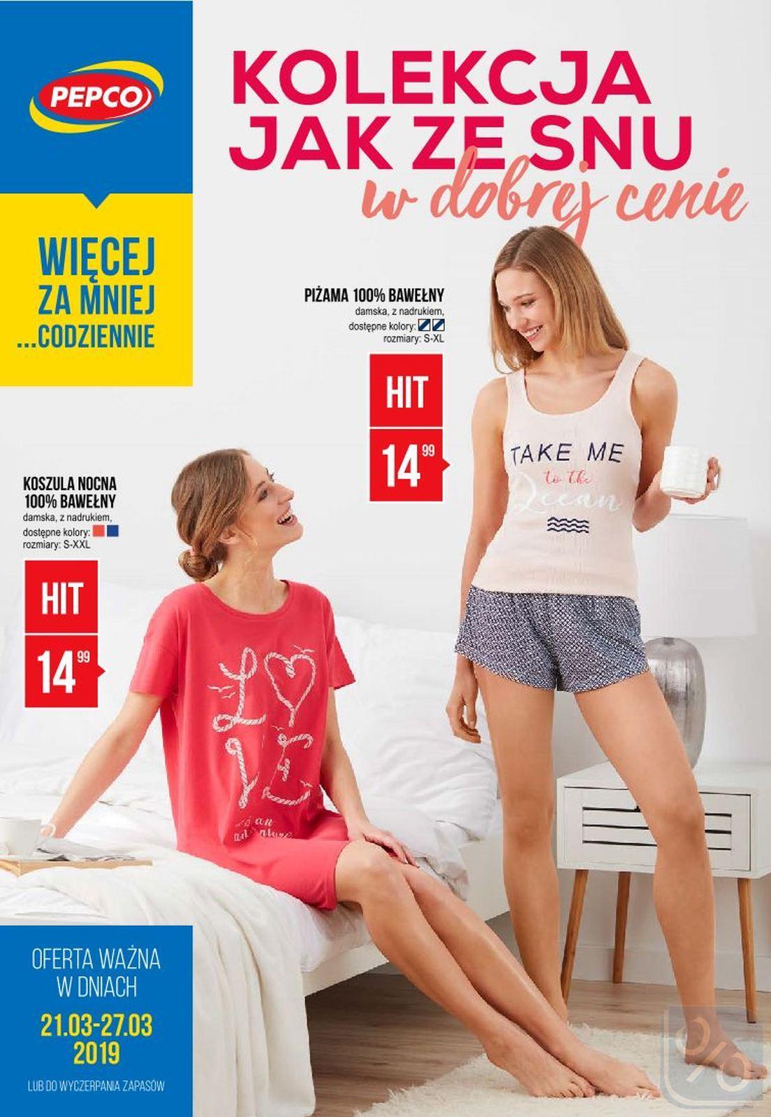 Gazetka promocyjna Pepco do 27/03/2019 str.0