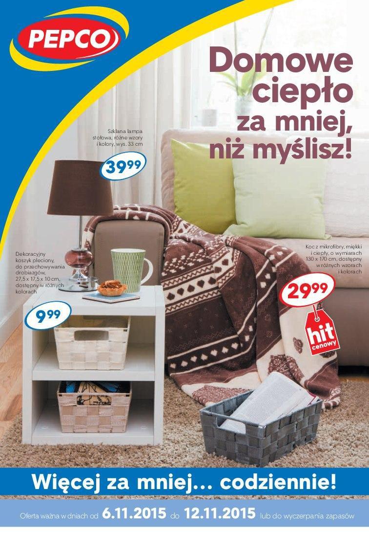 Gazetka promocyjna Pepco do 12/11/2015 str.0