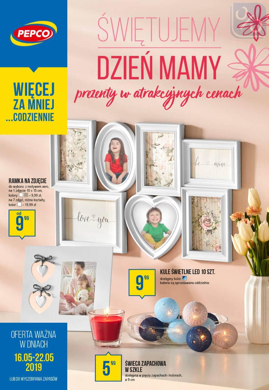 Gazetka promocyjna Pepco do 22/05/2019 str.0