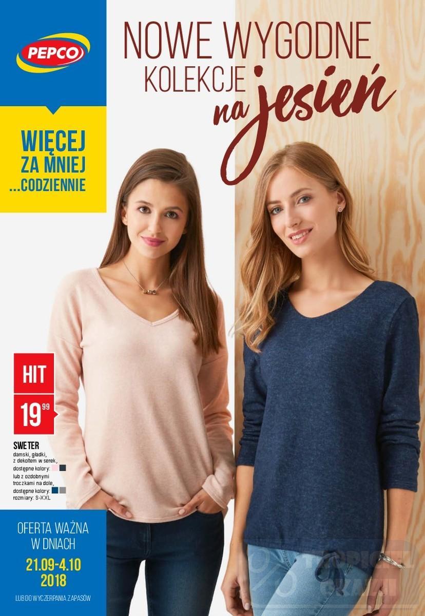 Gazetka promocyjna Pepco do 04/10/2018 str.1