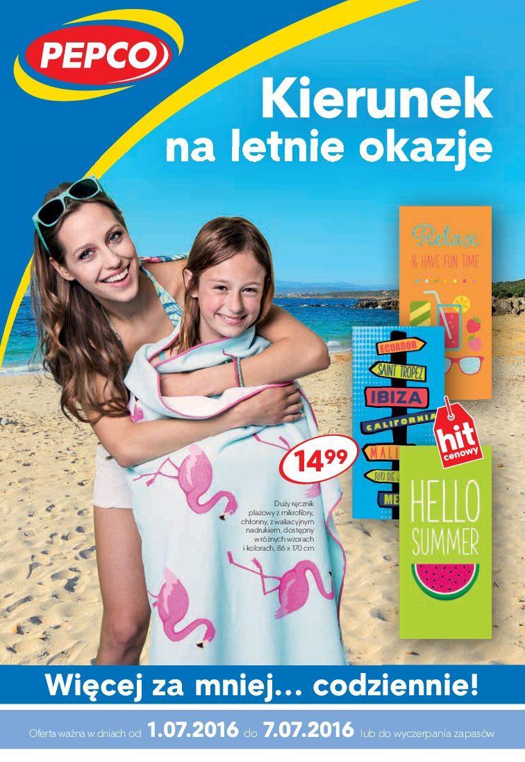 Gazetka promocyjna Pepco do 01/07/2016 str.0