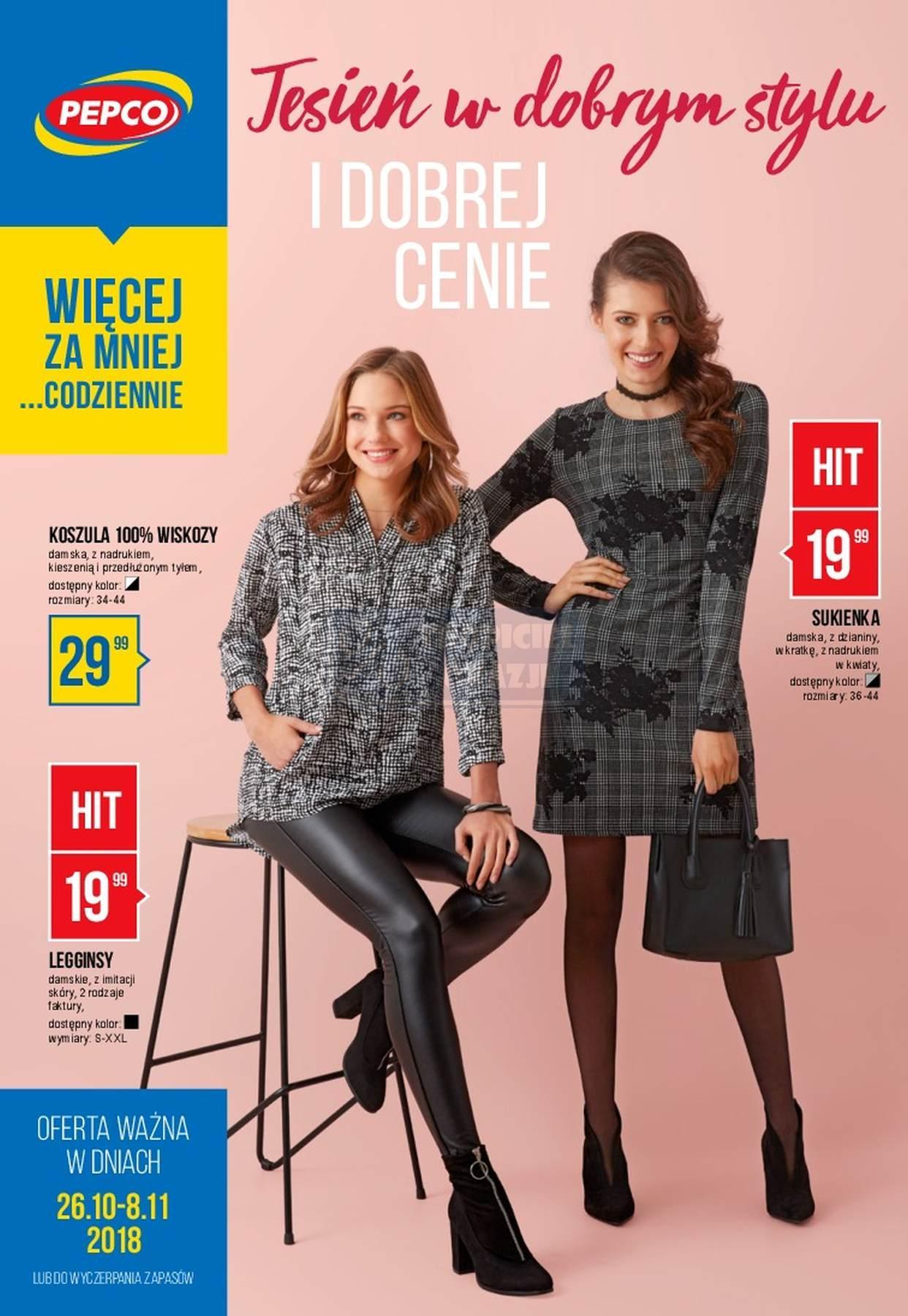 Gazetka promocyjna Pepco do 08/11/2018 str.0