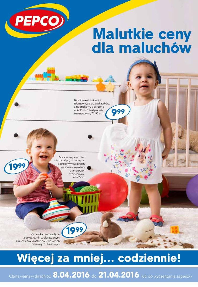 Gazetka promocyjna Pepco do 21/04/2016 str.0