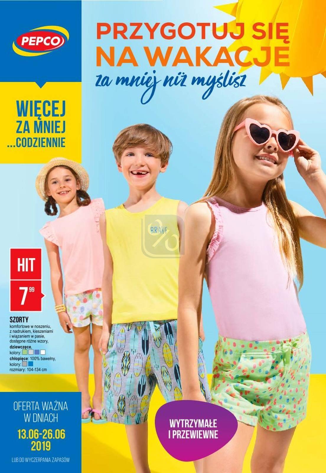 Gazetka promocyjna Pepco do 26/06/2019 str.1