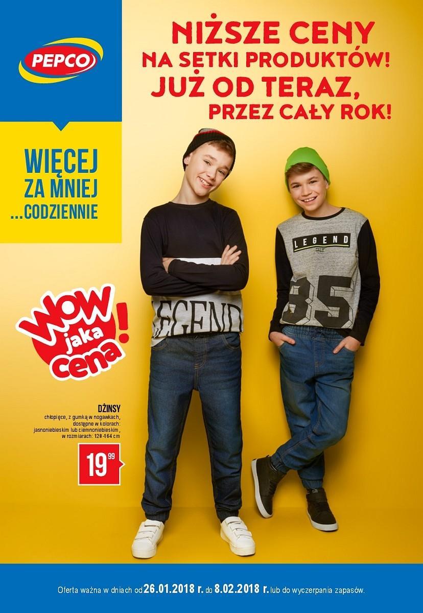 Gazetka promocyjna Pepco do 08/02/2018 str.0