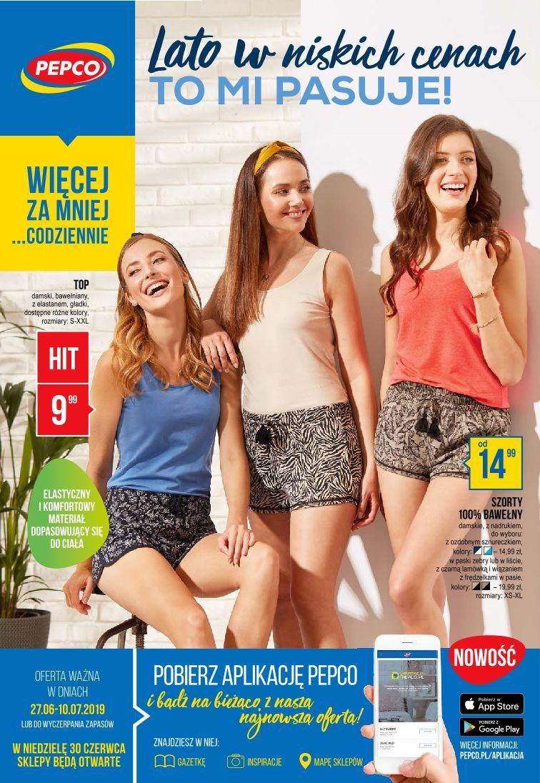 Gazetka promocyjna Pepco do 10/07/2019 str.0