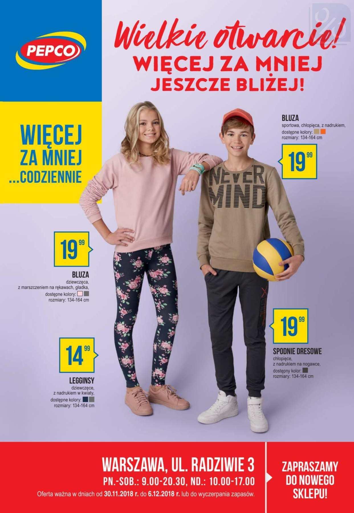Gazetka promocyjna Pepco do 06/12/2018 str.0