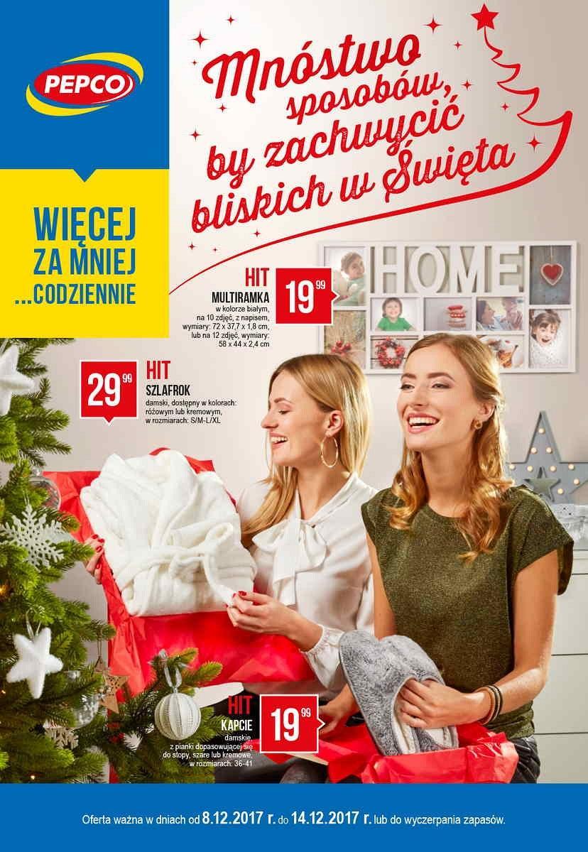 Gazetka promocyjna Pepco do 14/12/2017 str.0