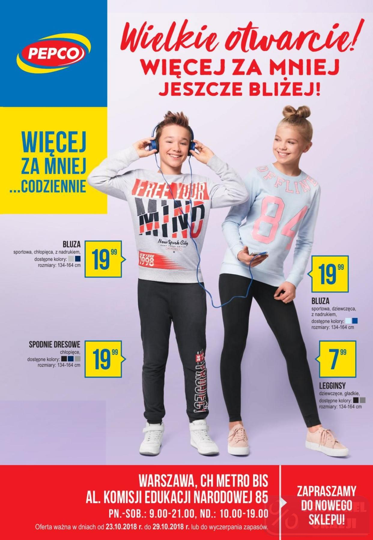 Gazetka promocyjna Pepco do 29/10/2018 str.0
