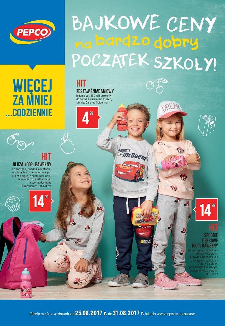 Gazetka promocyjna Pepco do 31/08/2017 str.0