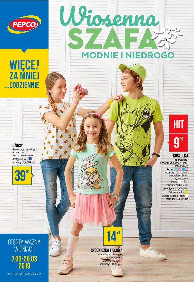 Gazetka promocyjna Pepco do 20/03/2019 str.0