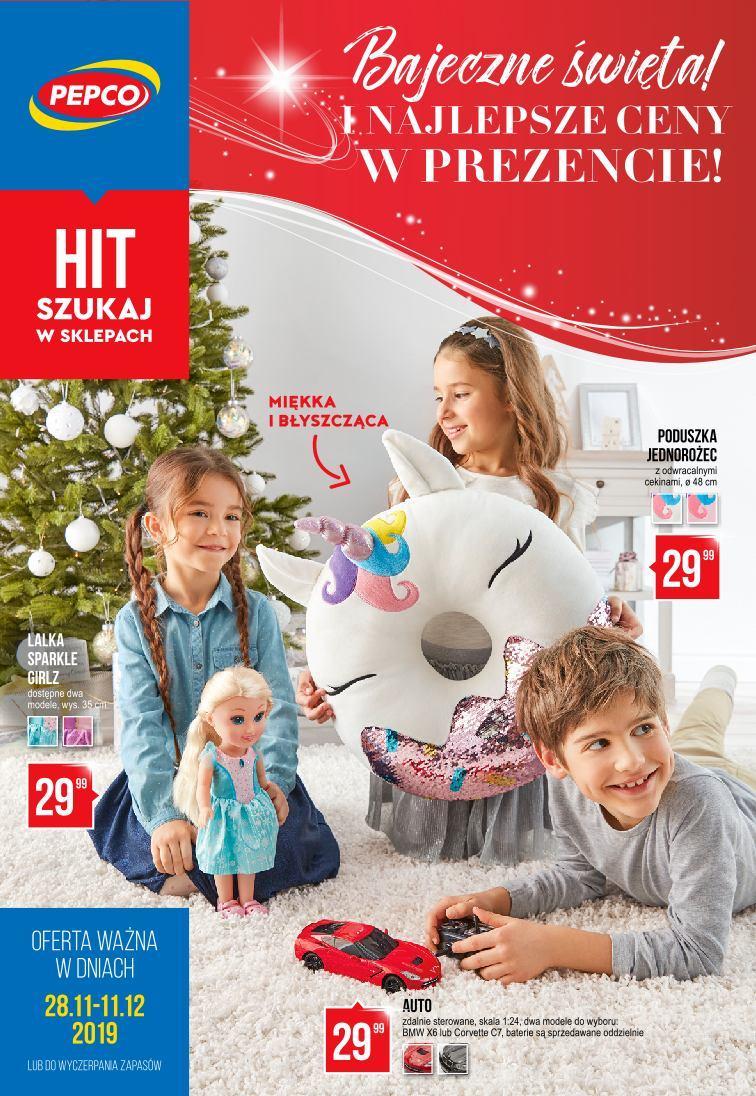 Gazetka promocyjna Pepco do 11/12/2019 str.1