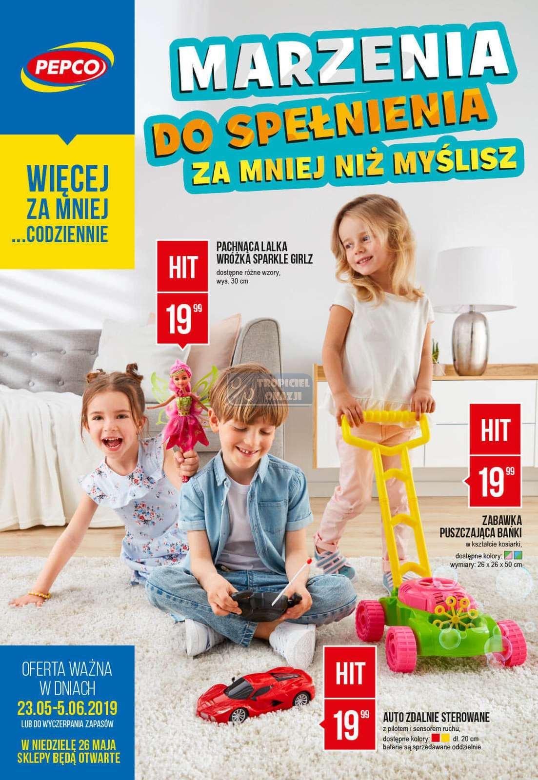 Gazetka promocyjna Pepco do 05/06/2019 str.0
