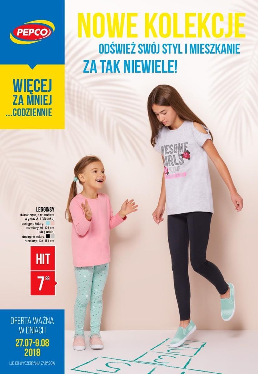 Gazetka promocyjna Pepco do 09/08/2018 str.0