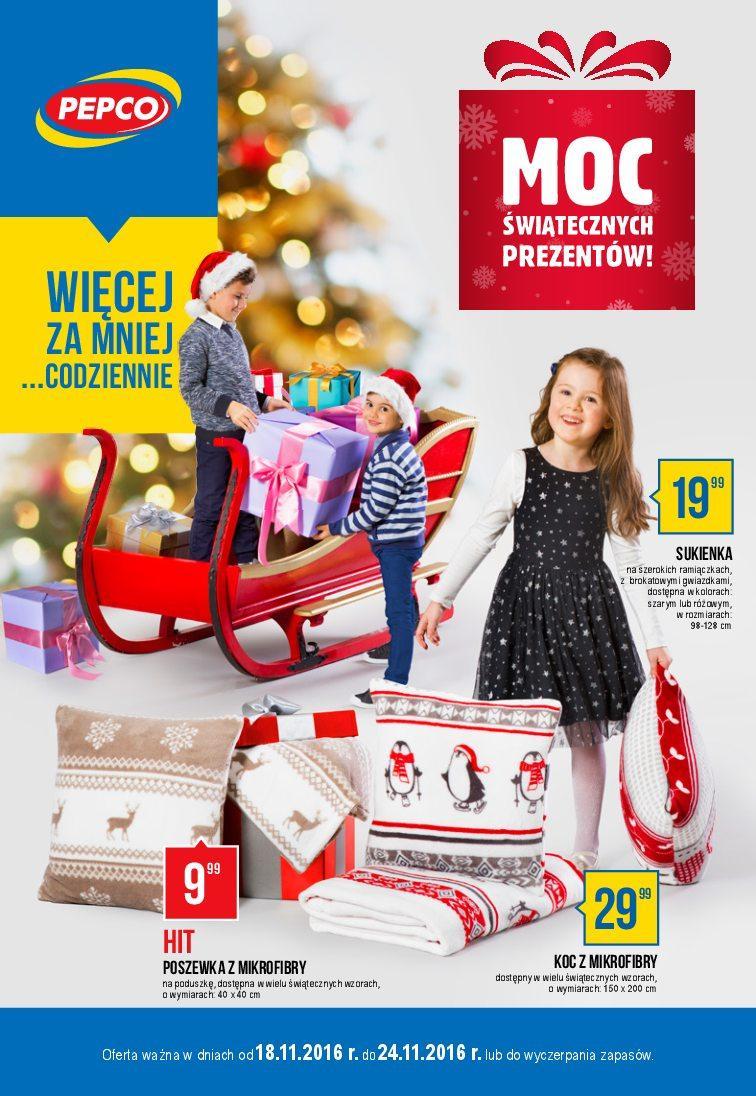 Gazetka promocyjna Pepco do 24/11/2016 str.0