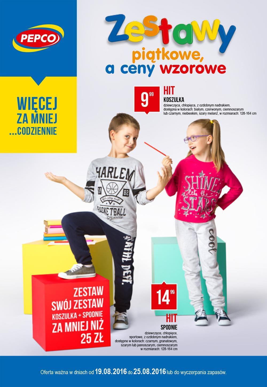 Gazetka promocyjna Pepco do 25/08/2016 str.0