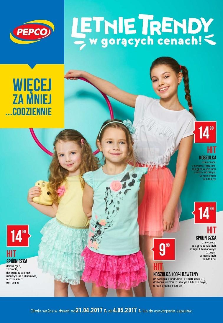 Gazetka promocyjna Pepco do 04/05/2017 str.0