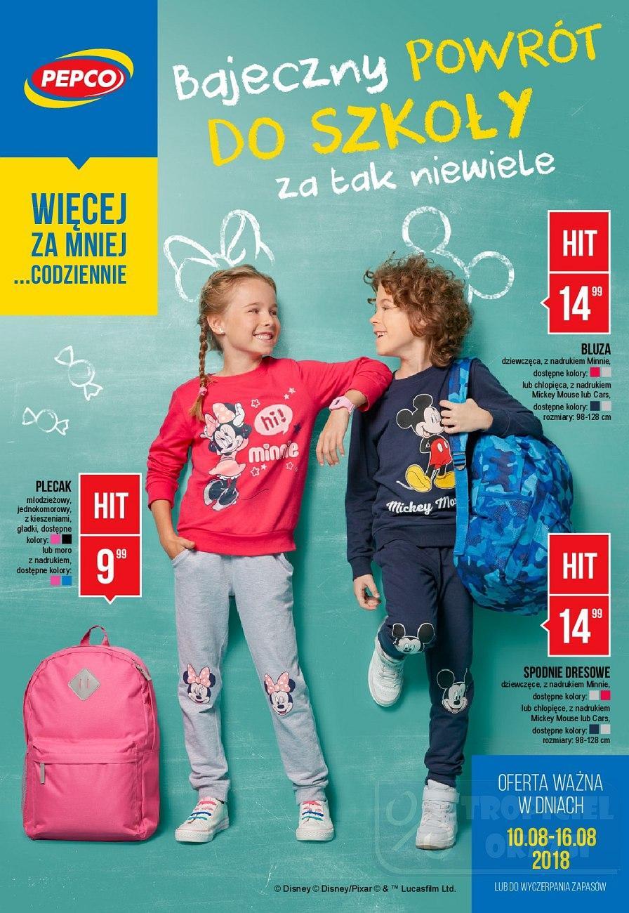 Gazetka promocyjna Pepco do 16/08/2018 str.0