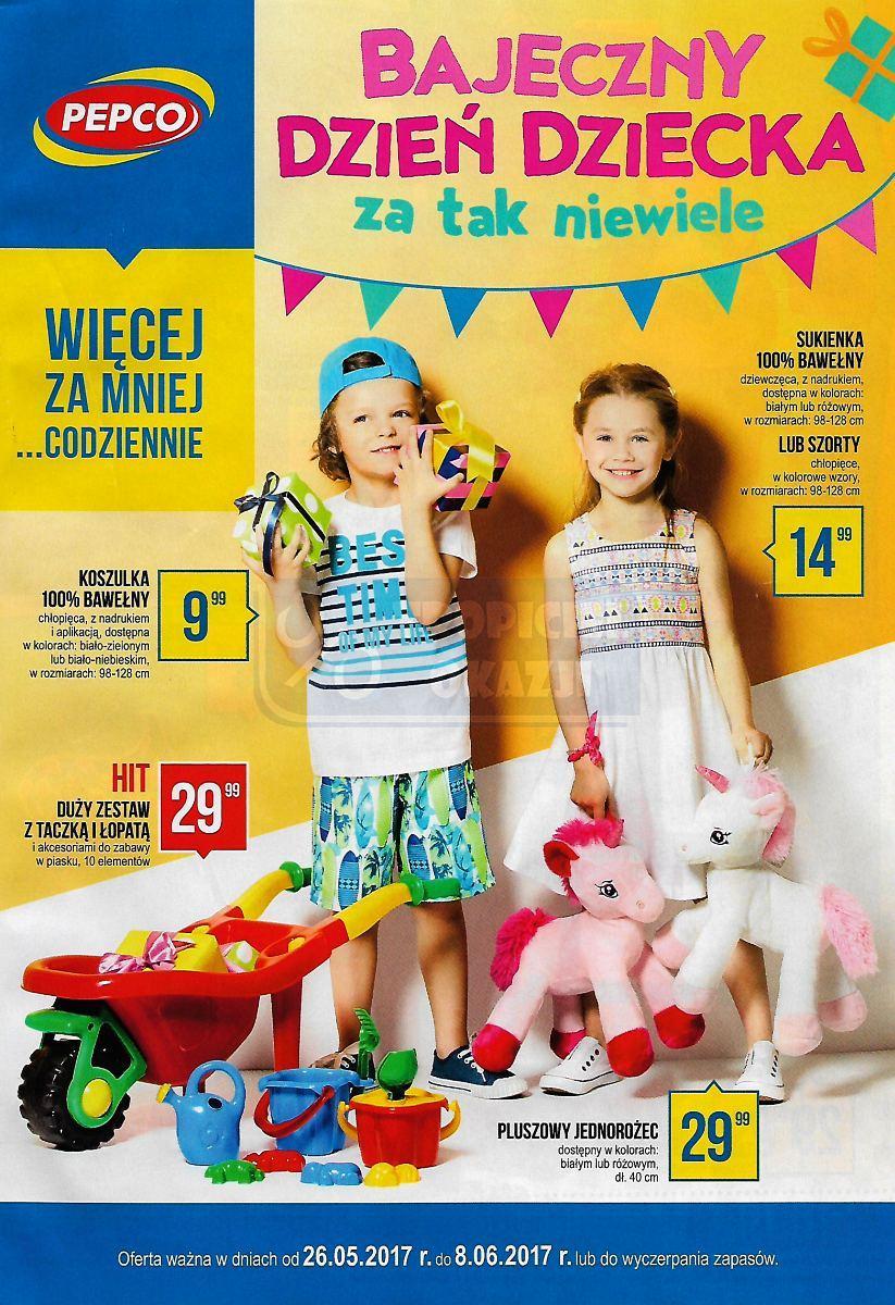 Gazetka promocyjna Pepco do 08/06/2017 str.0