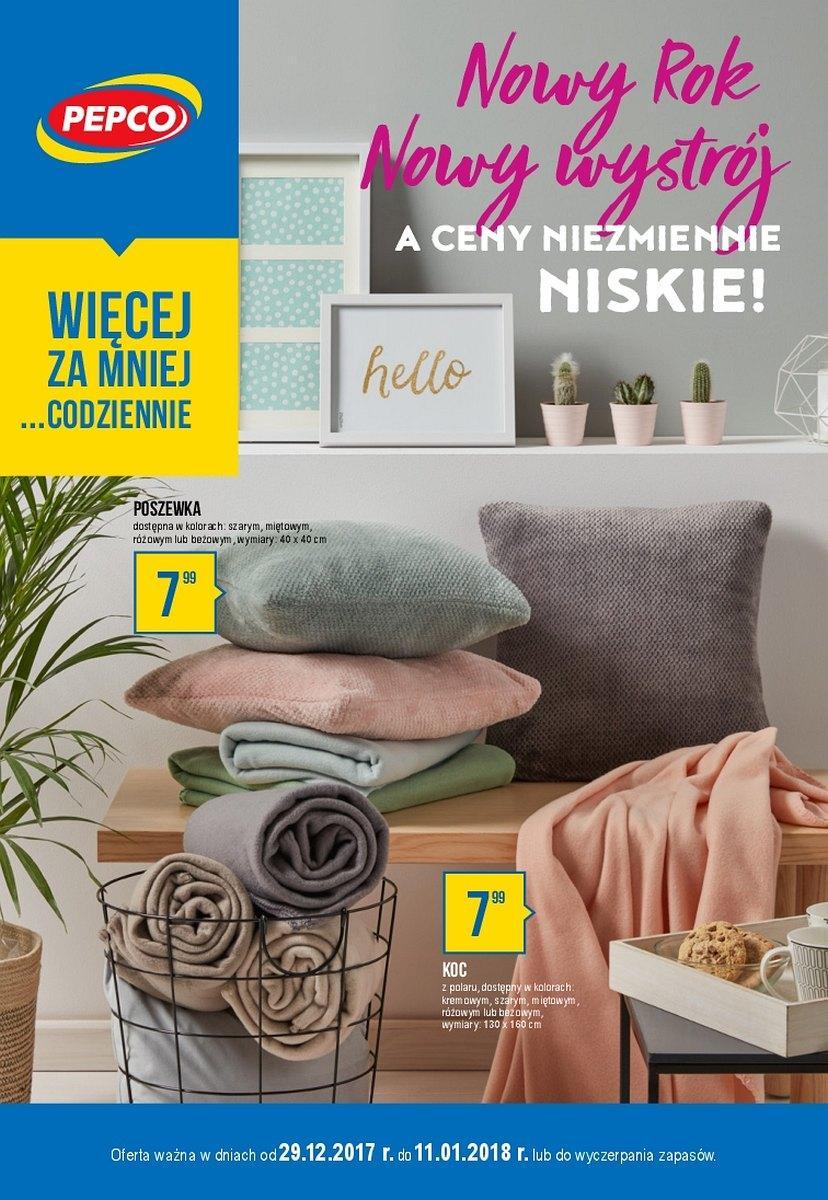 Gazetka promocyjna Pepco do 11/01/2018 str.0