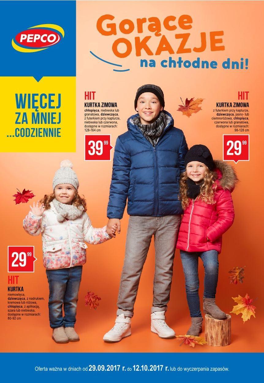 Gazetka promocyjna Pepco do 12/10/2017 str.0