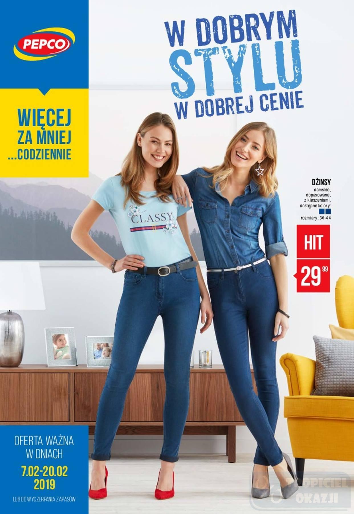Gazetka promocyjna Pepco do 20/02/2019 str.0