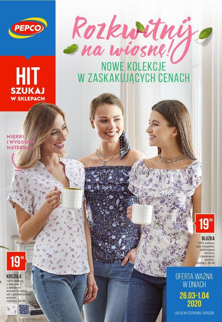 Gazetka promocyjna Pepco do 01/04/2020 str.1