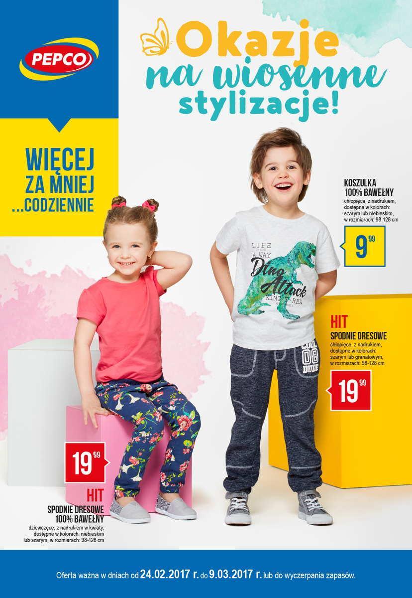 Gazetka promocyjna Pepco do 09/03/2017 str.0