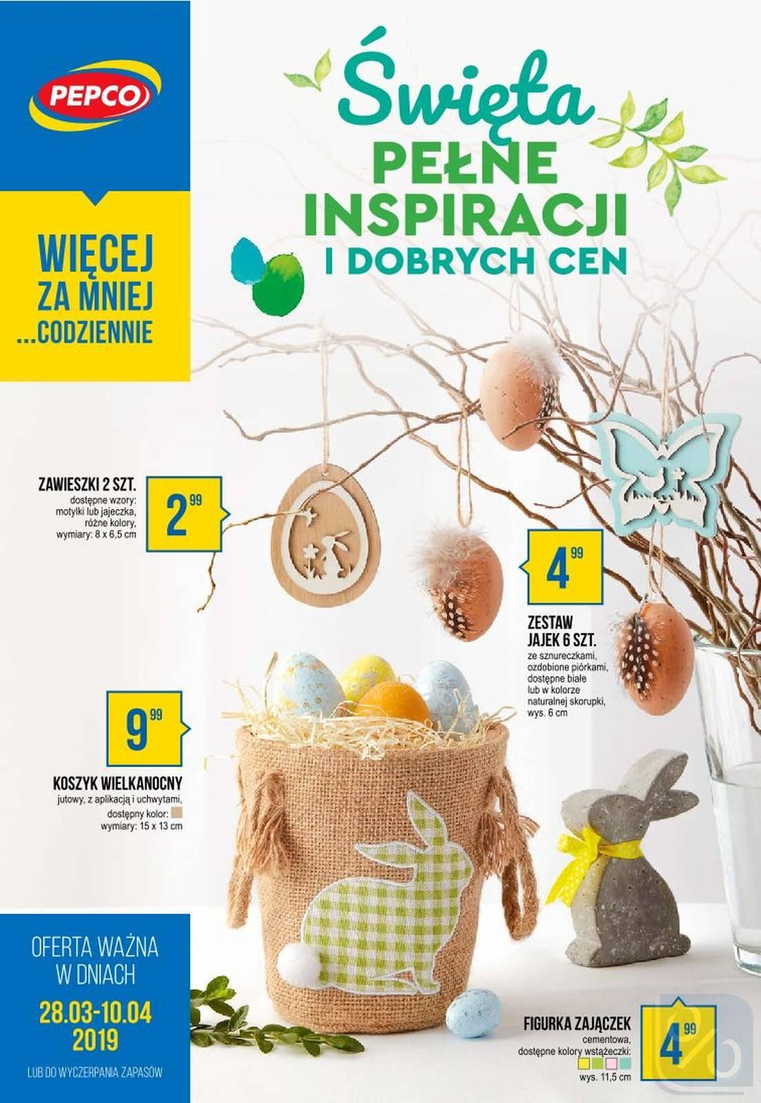 Gazetka promocyjna Pepco do 10/04/2019 str.0