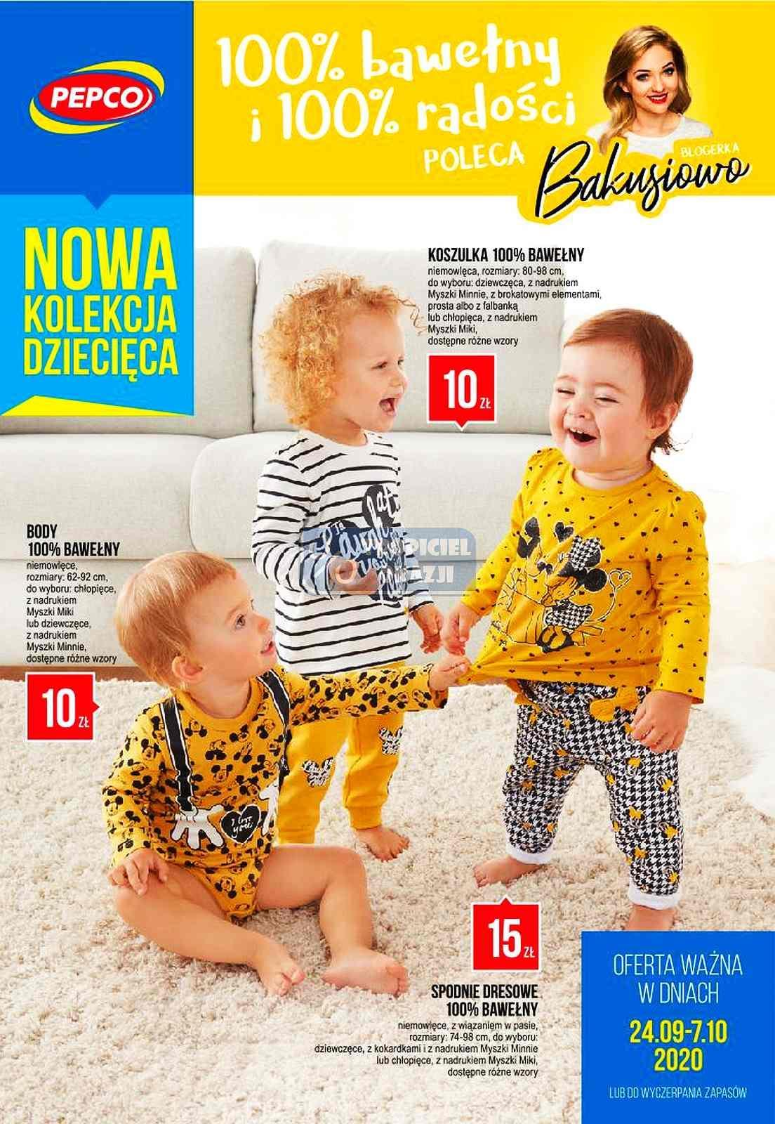 Gazetka promocyjna Pepco do 07/10/2020 str.1