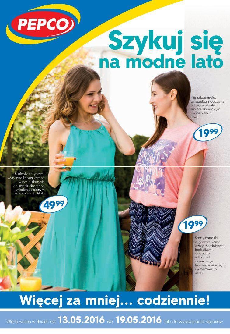 Gazetka promocyjna Pepco do 19/05/2016 str.0