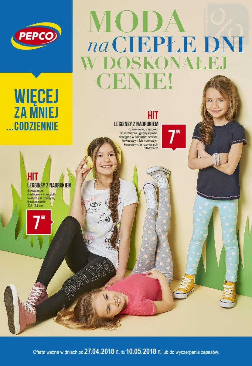 Gazetka promocyjna Pepco do 10/05/2018 str.0