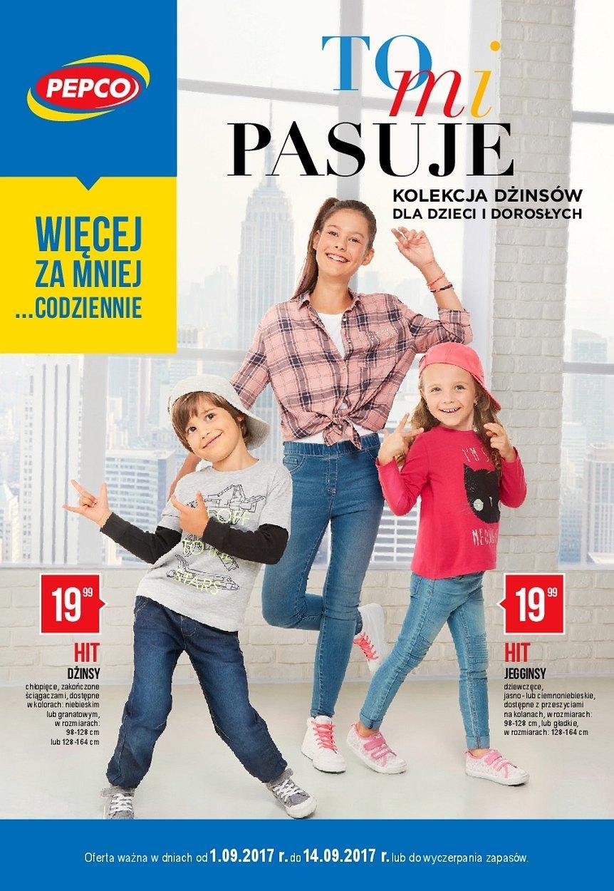 Gazetka promocyjna Pepco do 14/09/2017 str.0