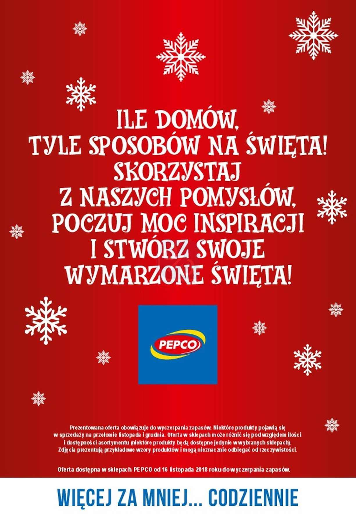 Gazetka promocyjna Pepco do 24/12/2018 str.40