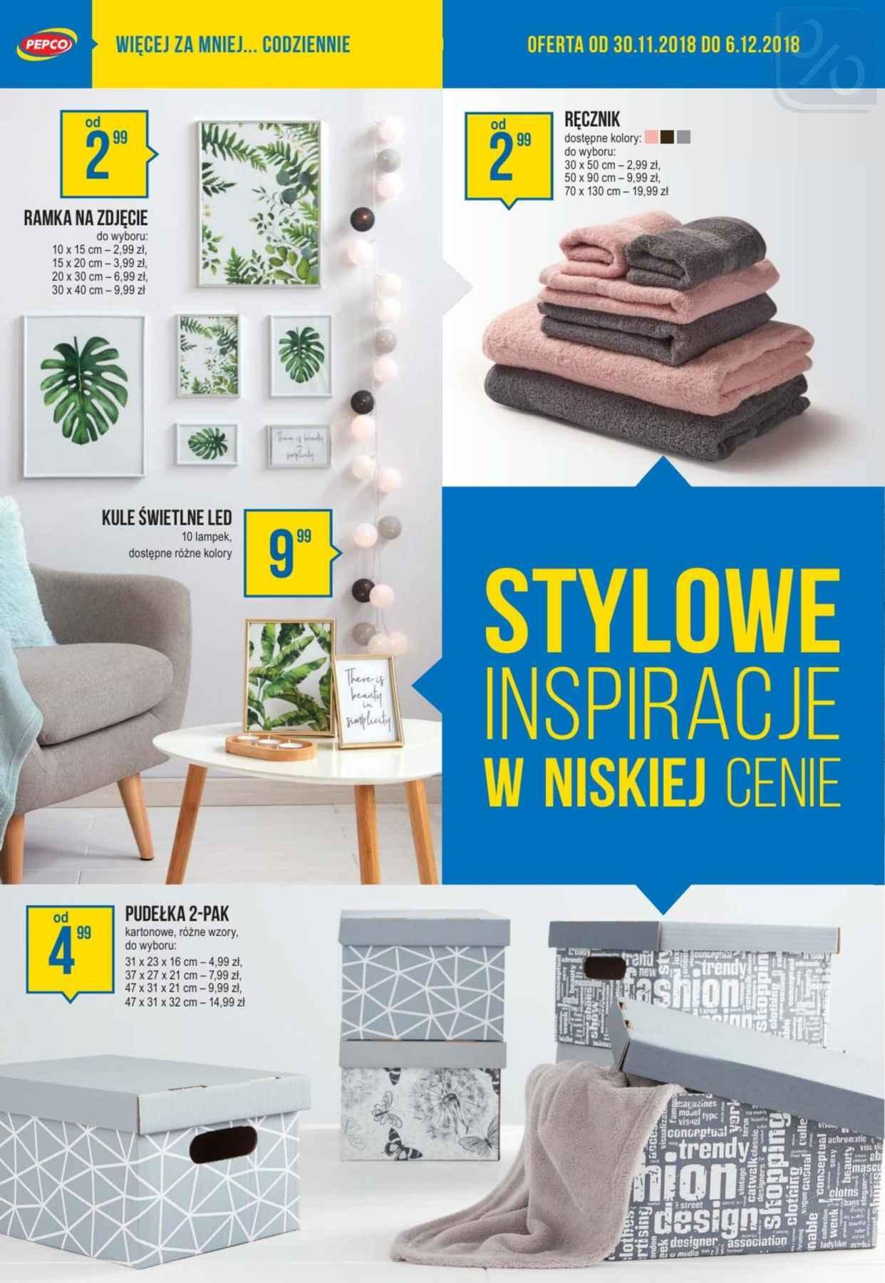Gazetka promocyjna Pepco do 06/12/2018 str.6
