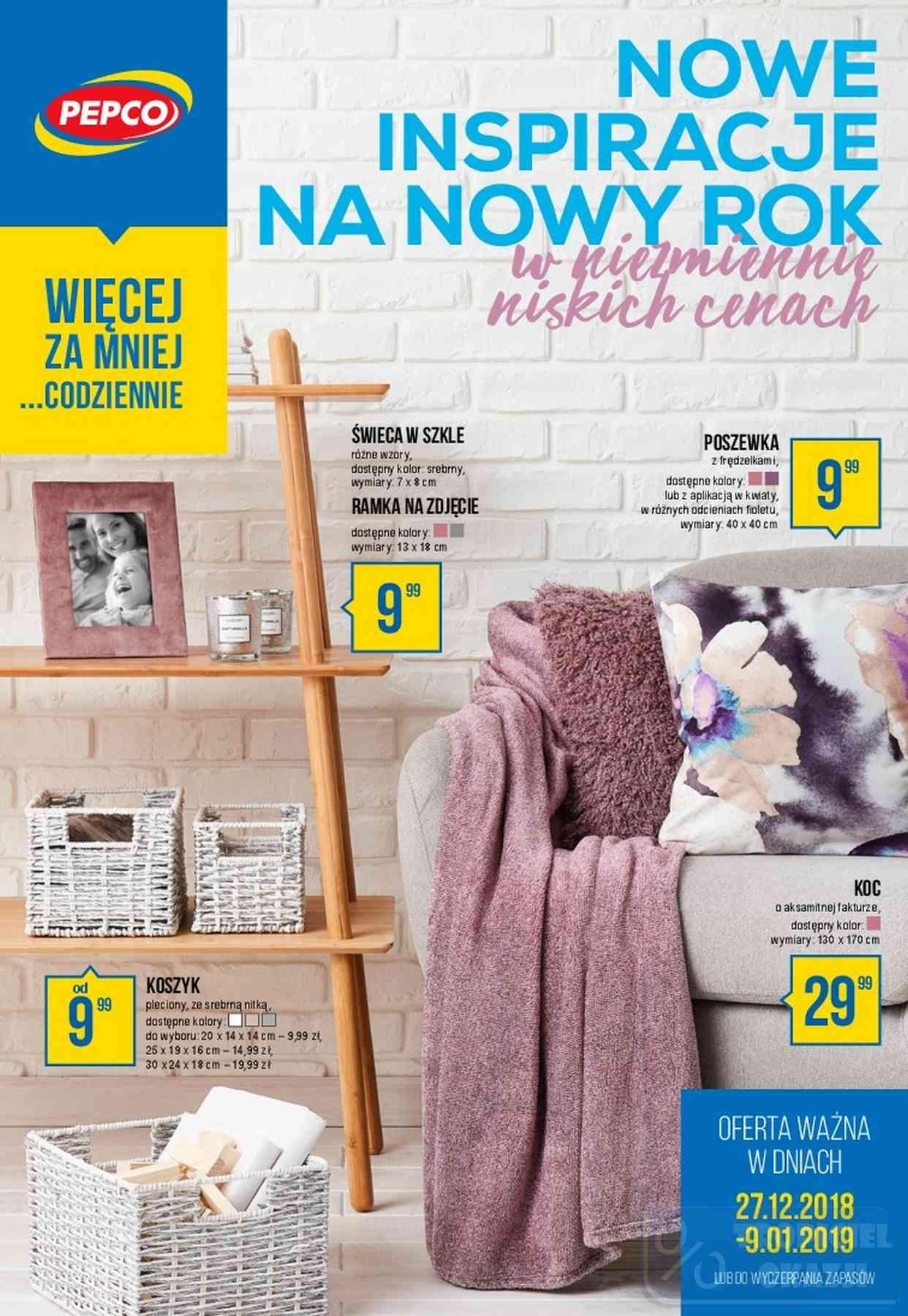 Gazetka promocyjna Pepco do 09/01/2019 str.1