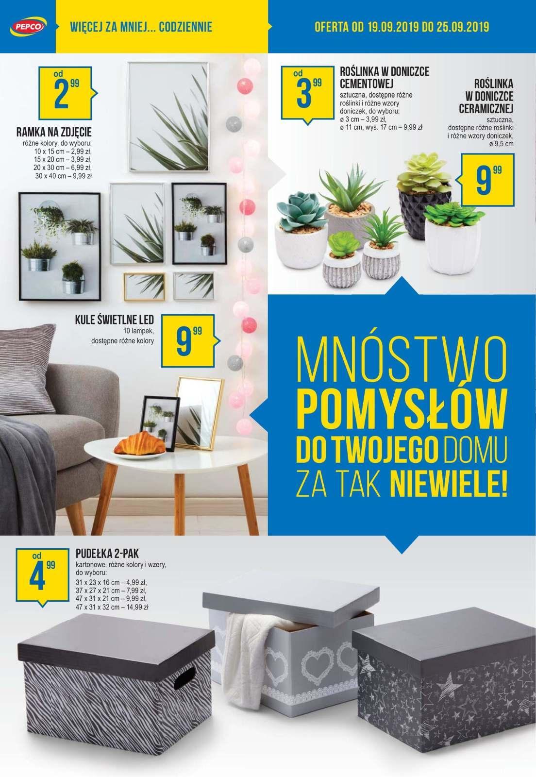 Gazetka promocyjna Pepco do 25/09/2019 str.6