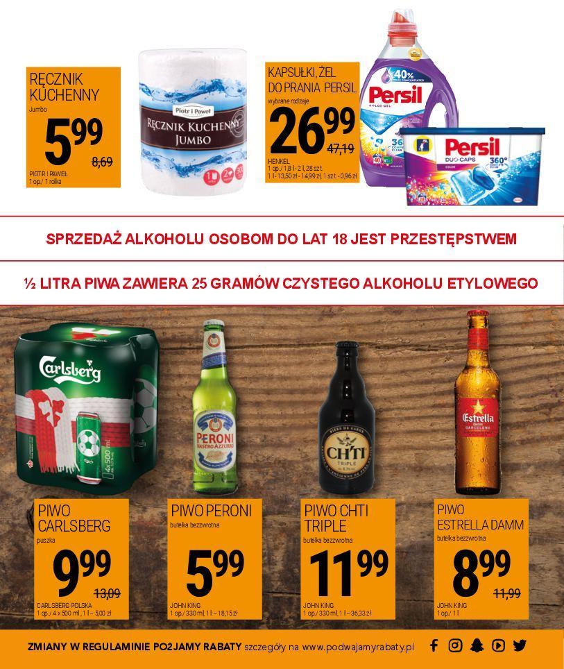 Gazetka promocyjna Piotr i Paweł do 29/07/2018 str.15