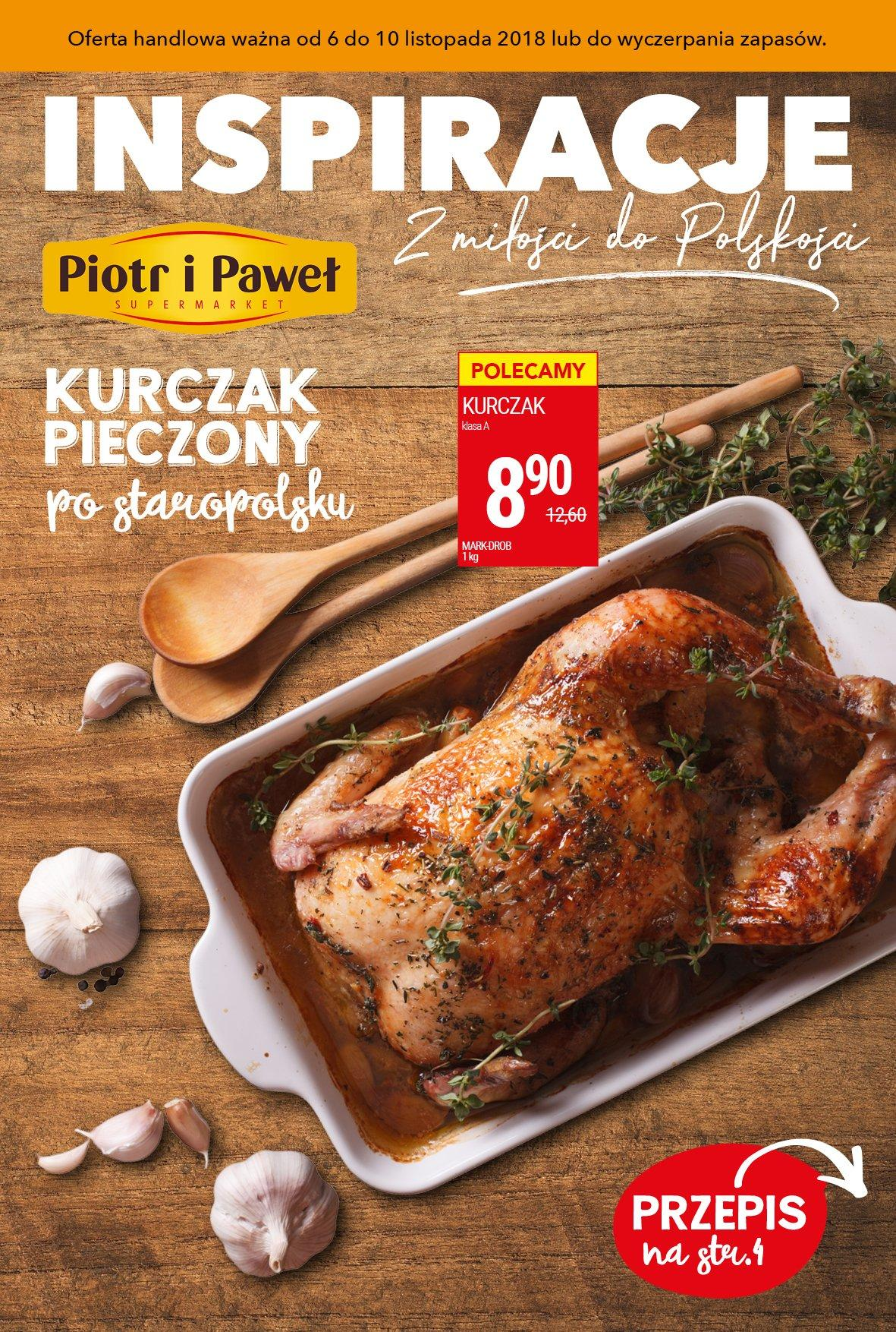 Gazetka promocyjna Piotr i Paweł do 10/11/2018 str.1