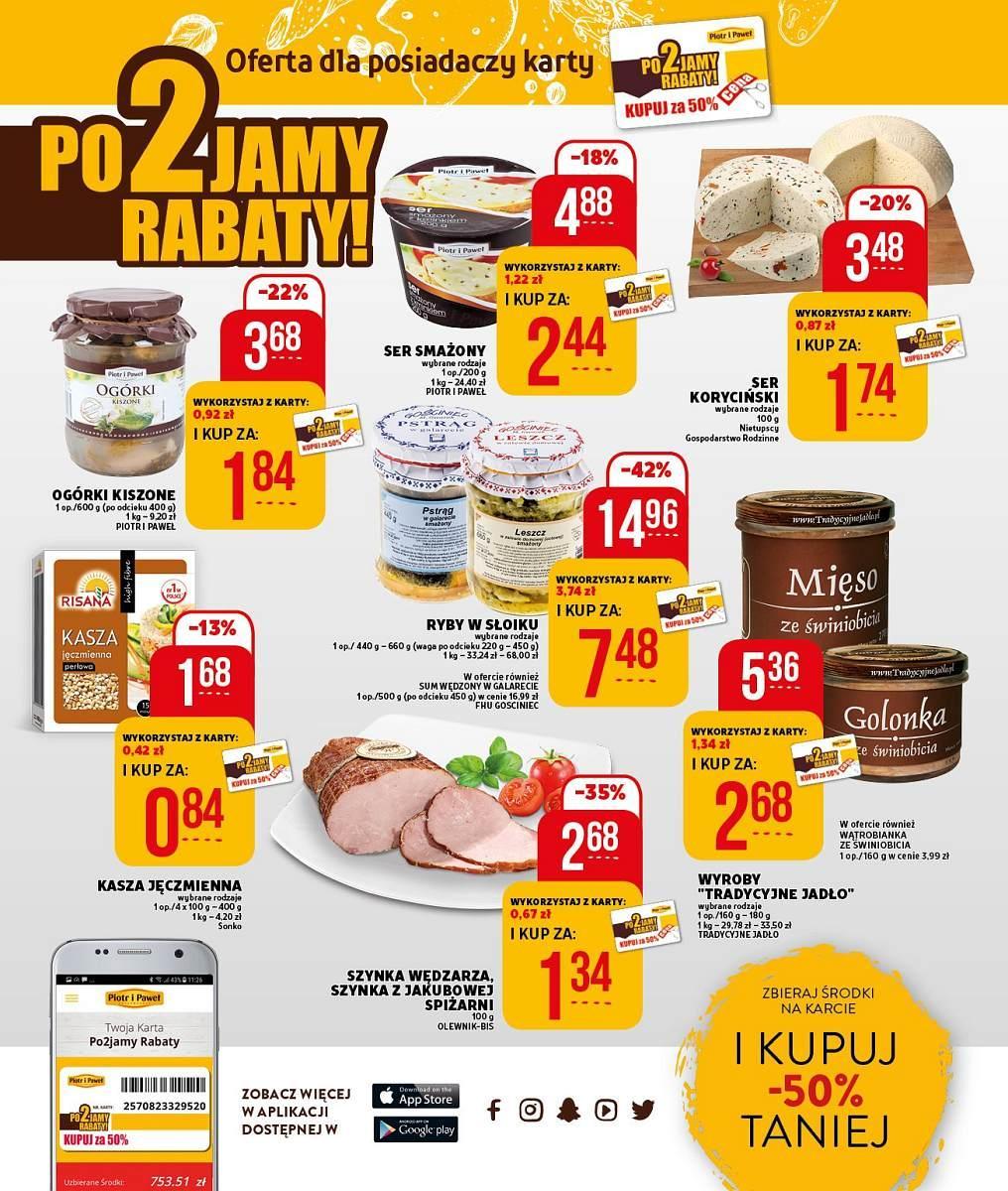 Gazetka promocyjna Piotr i Paweł do 10/03/2018 str.11