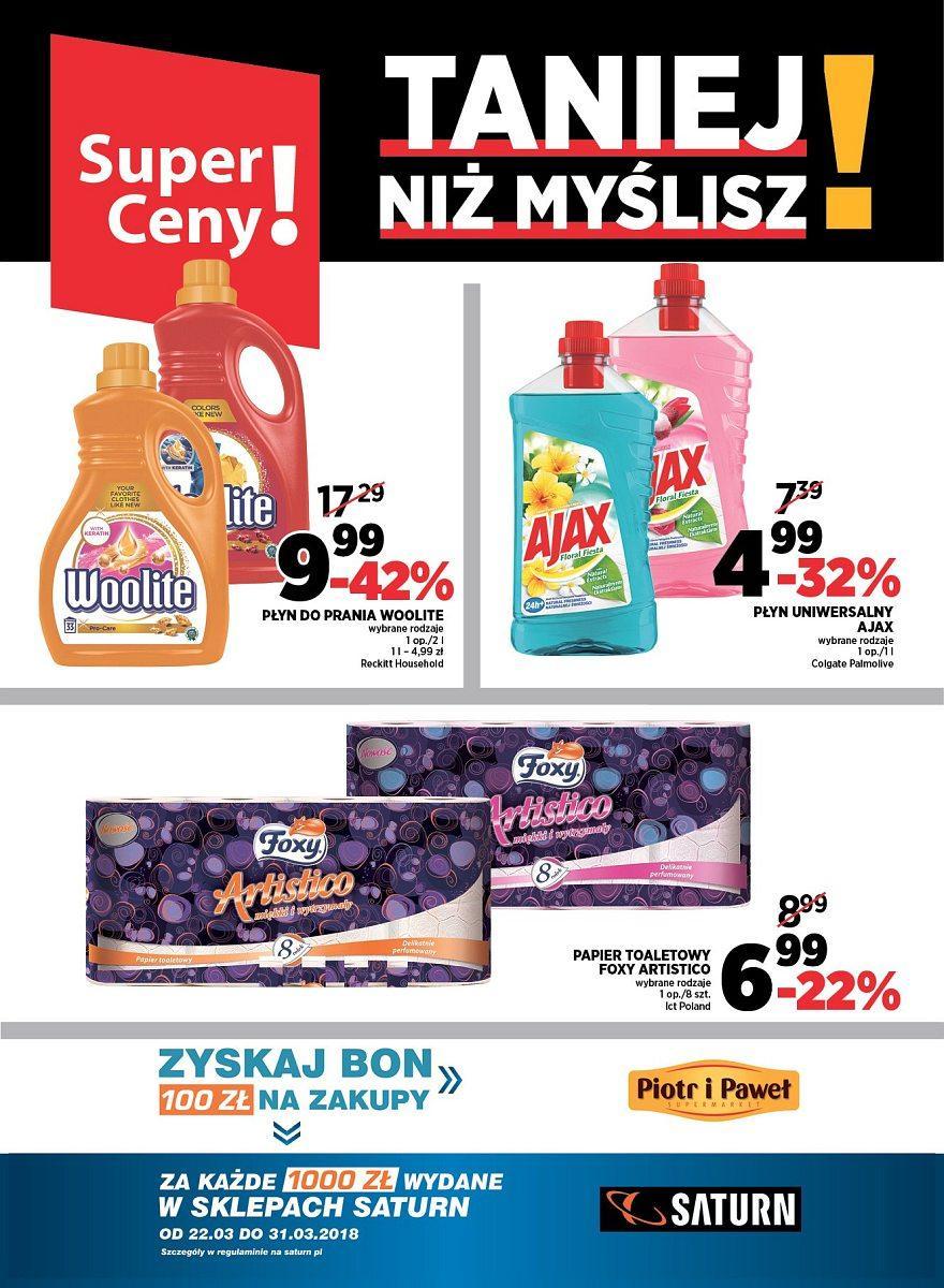 Gazetka promocyjna Piotr i Paweł do 31/03/2018 str.7