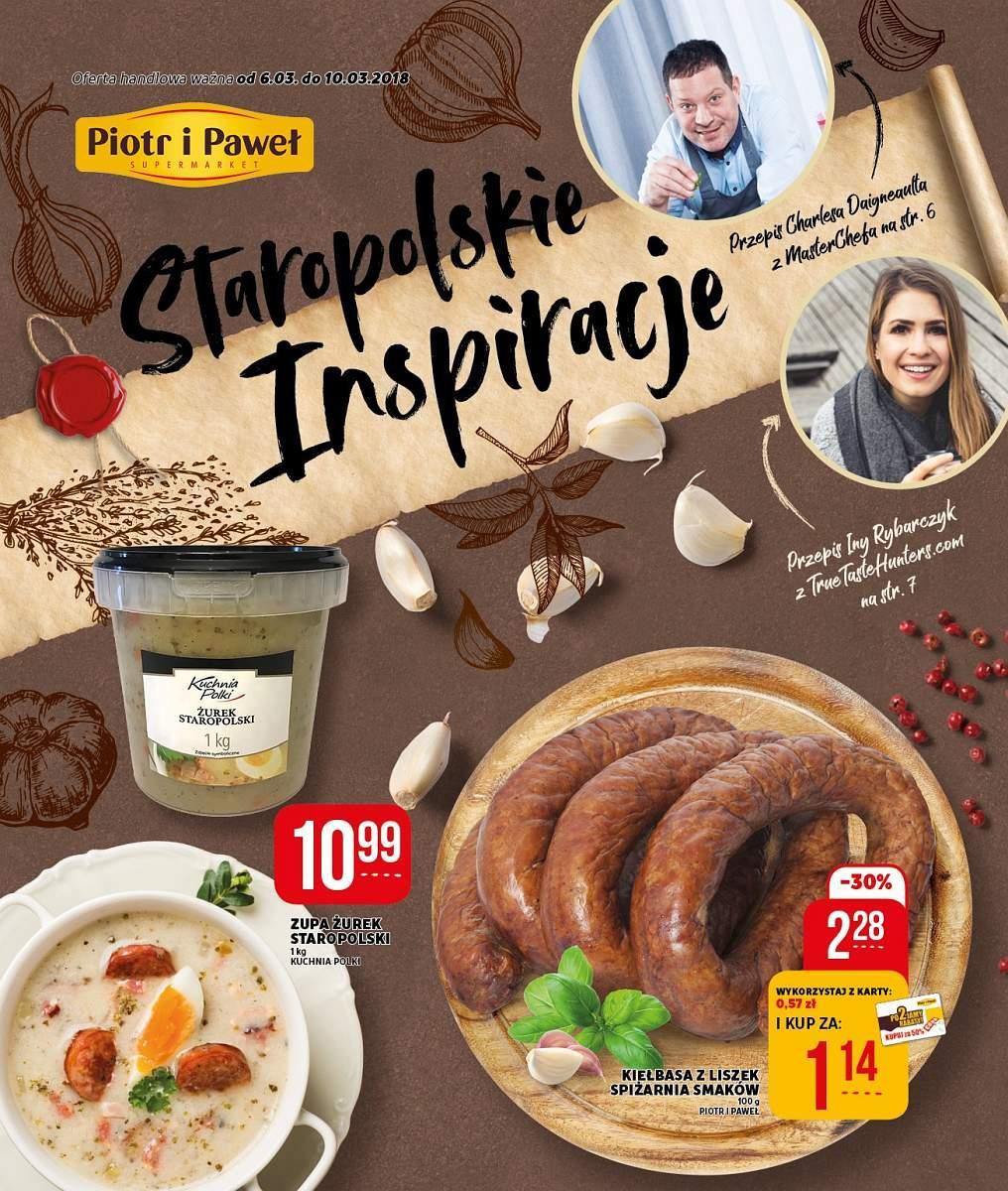 Gazetka promocyjna Piotr i Paweł do 10/03/2018 str.0