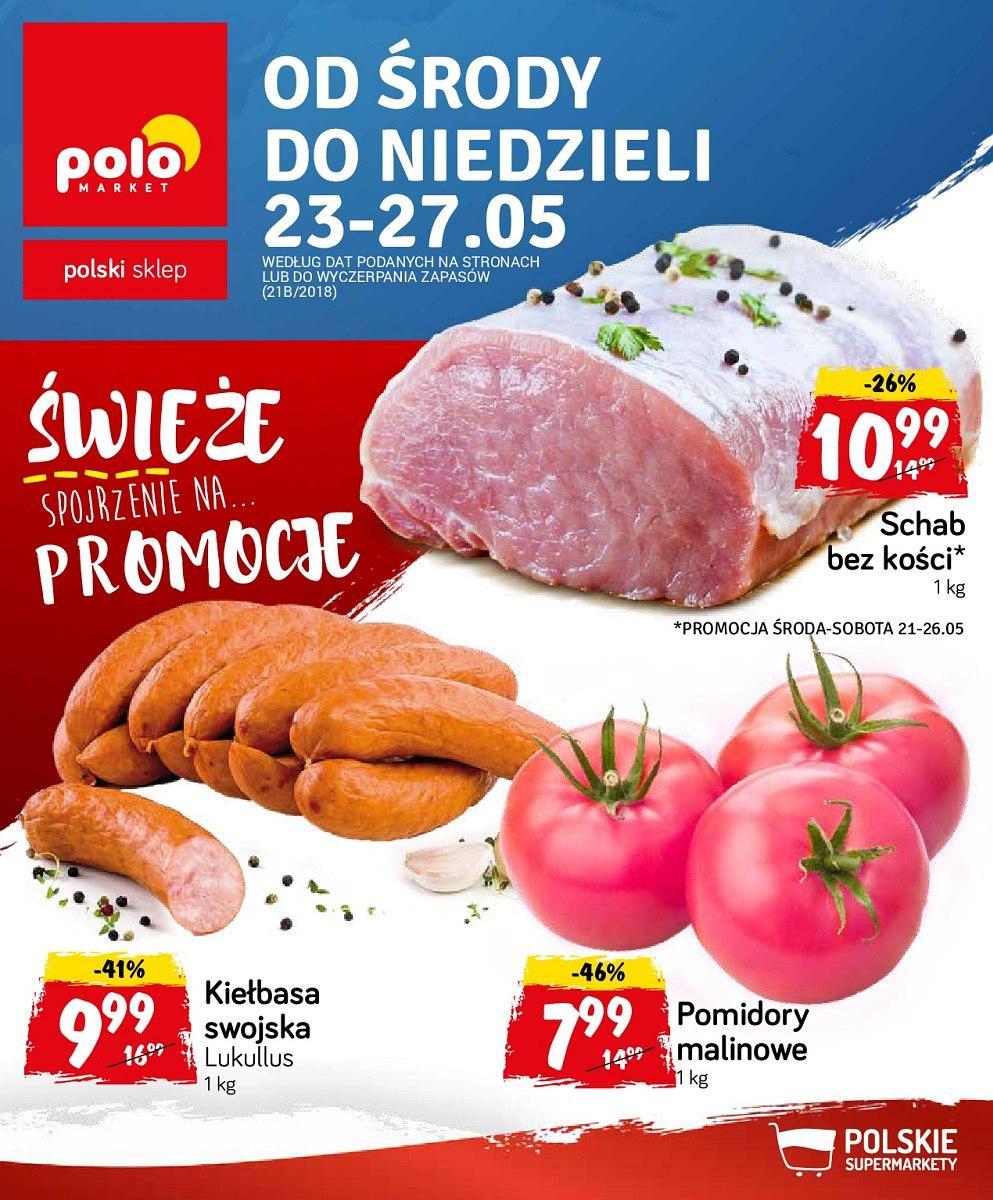 Gazetka promocyjna POLOmarket do 27/05/2018 str.0