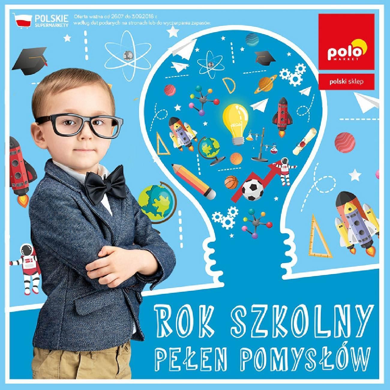 Gazetka promocyjna POLOmarket do 03/09/2018 str.0