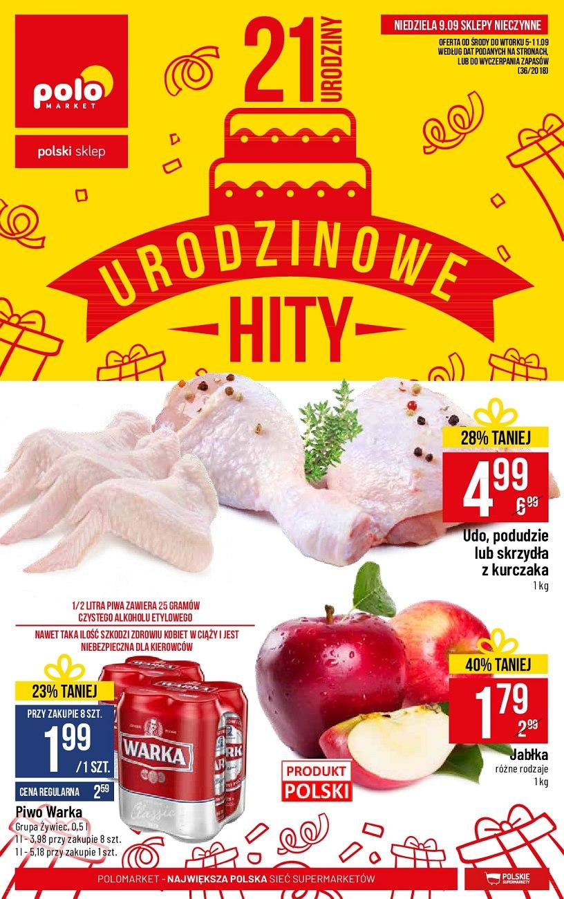 Gazetka promocyjna POLOmarket do 11/09/2018 str.1