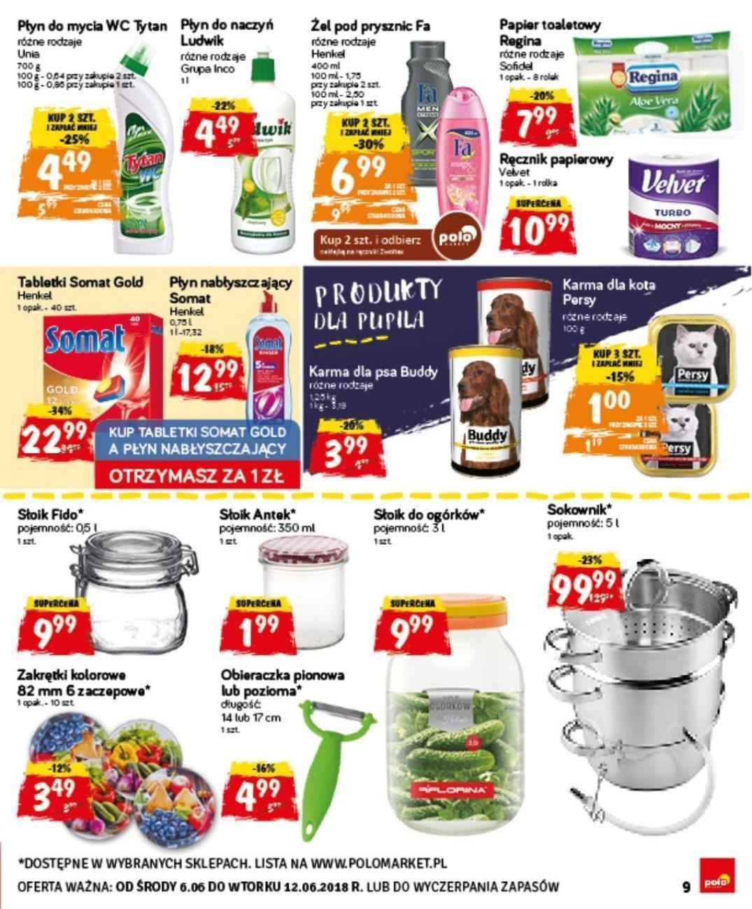Gazetka promocyjna POLOmarket do 12/06/2018 str.9