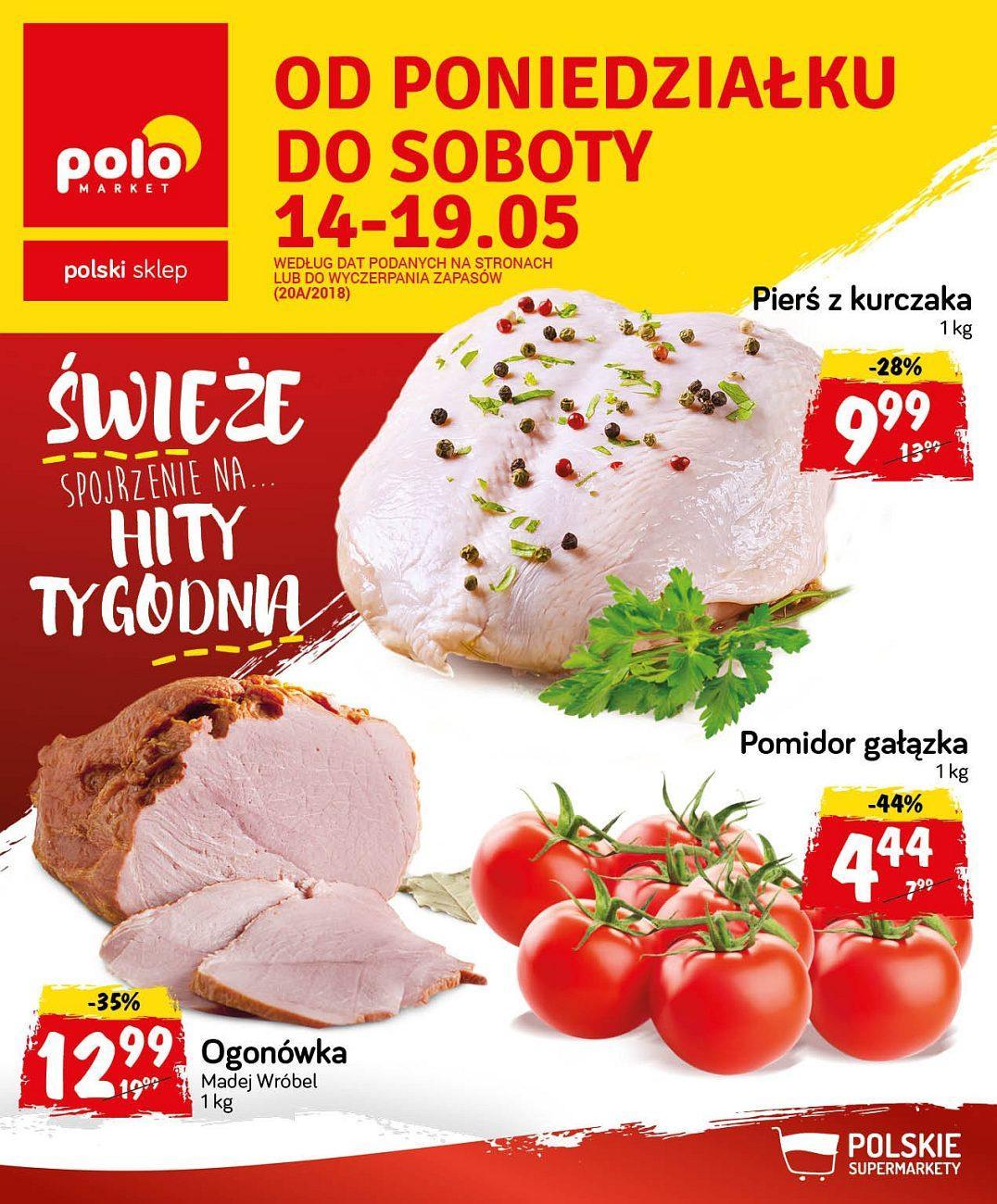 Gazetka promocyjna POLOmarket do 19/05/2018 str.0