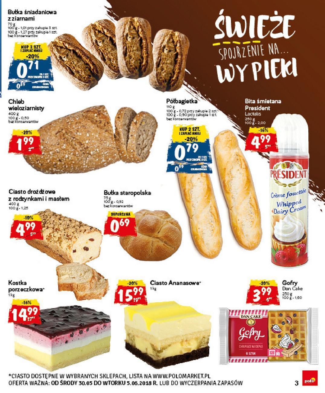 Gazetka promocyjna POLOmarket do 05/06/2018 str.2